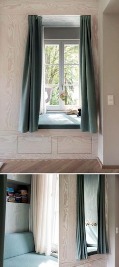 Child's Sleeping Window Nook