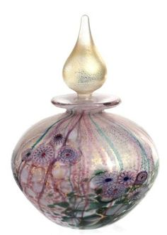 Opal 9cm tall Wilderness glass Perfume Bottle Price: £75.00