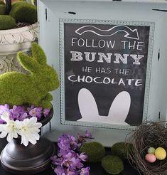 Spring & Easter Chalkboard