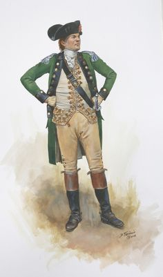 """""""Colonel Nash of the New Hampshire Regiment, Continental Army during the Saratoga Campaign and Battle of Hubbardton Artist Don Troiani. American Indian Wars, American War, Early American, American History, Independence War, American Independence, Military Art, Military History, Independencia Usa"""