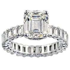 2.70 ct Shenoa Signature Emerald cut Diamond Ring      This setting is one of SHENOA'S SIGNATURE SETTINGS. This is truly a one-of-a-kind ring. That special lady in your life will absolutely love this piece. As an expression of your love & devotion to her, ........