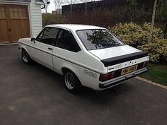 Ford Escort Mk2 RS2000 flat front