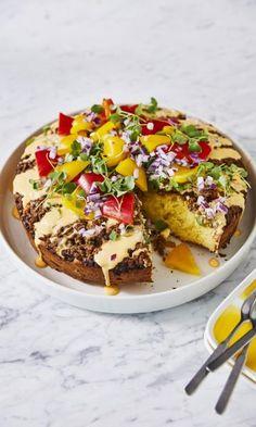 Tacopiirakka   Meillä kotona Salmon Burgers, Acai Bowl, Salsa, French Toast, Good Food, Baking, Breakfast, Ethnic Recipes, Fun