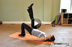 Body Weight (no Equipment) Workout Videos From SparkPeople.com | SparkPeople