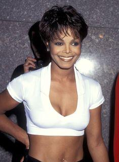 Janet Jackson's Style Evolution, From Cute Child Star To Sexy Mom-To-Be Janet Jackson 90s, Jo Jackson, Jackson Family, Michael Jackson Body, Francine Jordi, Divas, Vintage Black Glamour, The Jacksons, Beautiful Black Women