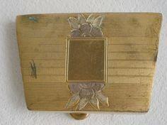 Vintage Gold Plated Buckle http://www.ebay.co.uk/itm/201141818678?ssPageName=STRK:MESELX:IT&_trksid=p3984.m1555.l2648
