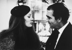 French art power couple from the 60s-70s, Niki de Saint Phalle and Jean Tinguely.
