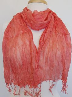 S180 Crinkled silk - Relax Orange