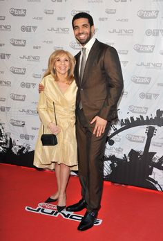 Pin for Later: Started From the Bottom: Drake's Sweetest and Sexiest Moments Drake bringing his mom as his red carpet date? Adorable.