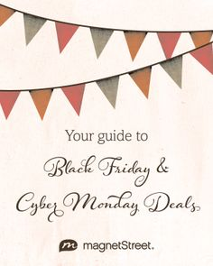 The 2013 guide to Black Friday & Cyber Monday Deals for Weddings! Stay in your wedding budget with these hot deals!