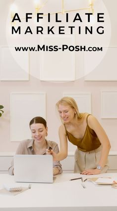 The Best Affiliate Marketing Program to Join in 2021 www.Miss-Posh.com Marketing Program, Affiliate Marketing, Blogging, Join, Good Things