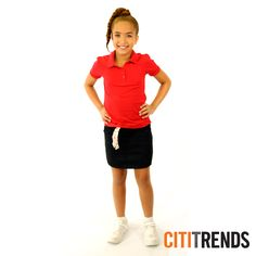 We have all the looks for school uniforms that you need for boys and girls 4-20 with limited toddler sizes available. Look so fresh and so clean repping your school colors in your fresh uniforms. Prices for polos starting at $3.99 and bottoms just $6.99
