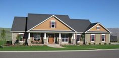 Country Plan: 2,800 Square Feet, 4 Bedrooms, 3.5 Bathrooms - 348-00208