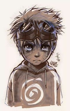 Naruto has such a sad past. It makes me want to go into the anime and give him a hug! He's amazing.