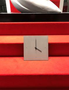 C-CLOCK auf der BAU2017 - der Weltleitmesse für Architektur, Materialien und Systeme Clock, Wall Clocks, Architecture, Watch, Clocks