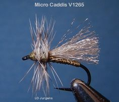 "This caddis pattern is an effective pattern on small freestone creeks and in the evening when the ""Evening Caddis Hatch"" is going full bla..."