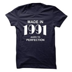 Made in 1991 T-Shirts, Hoodies. Get It Now ==>…
