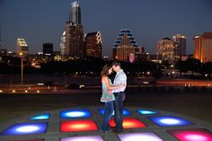 I love this cool landing where you can view the Austin skyline. It is a nightmare for color balance haha! but an awesome place for pictures just the same. Jim Rode Photographer