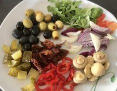Śledzie po włosku - Blog z apetytem Fruit Salad, Cobb Salad, Dairy, Cheese, Blog, Fruit Salads, Blogging