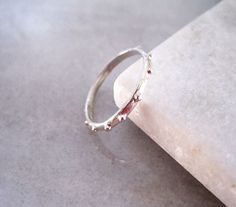 Mix things up with this gorgeous solid silver stacking ring. Designed and made in Australia. www.empireandolive.com.au