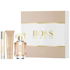 BuyHUGO BOSS BOSS The Scent For Her 50ml Eau de Parfum Fragrance Gift Set Online at johnlewis.com