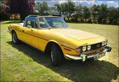 Triumph Stag  Prone to various engine problems in its infancy, but surviving examples are mostly well sorted. Once an object of ridicule, now a cherished classic.