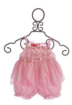 Kate Mack Infant Girls Top and Bloomers Pink Poolside Petals $44.25