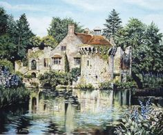 """Scotney Castle"" by Marnie Collins of Calgary, Alberta, Canada"