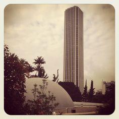 Torre colpatria y planetario. Bogotá