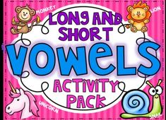 This is all 5 of my vowel packs combined and for a great deal! Each packet has 57 pages of activities for your little ones to read, write, and sort words with short and long vowels in them. Each packet includes a concentration/pocket chart matching activity, word sort, 2 write the room activities, a board game, and a Connect 5 game. Each activity has a directions page so your little ones can work independently.
