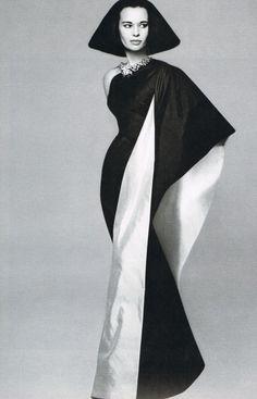 Gloria Vanderbilt by Richard Avedon for Harper's Bazaar, 1955