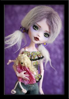 Fawn - Custom Draculaura Doll by *IvyHeartDesigns on deviantART