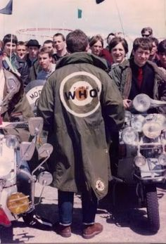 the mod parka or tents as we called them Youth Culture, Pop Culture, Style Année 60, Mods Style, Mod Scooter, Lambretta Scooter, Rude Boy, 60s Mod, My Generation