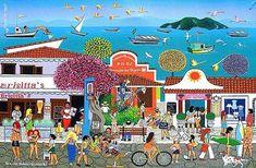 Nascido em Caruaru - PB (1956)   A sofisticação e a intensidade das cores são as pricipais características da arte de Militão dos Santos. ...