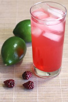 The Raspberry-Lime Rickey is one of those rare drinks that's excellent with or without alcohol. The recipe is exactly the same either way, except of course you leave out the vodka if you're going for a non-alcoholic treat.