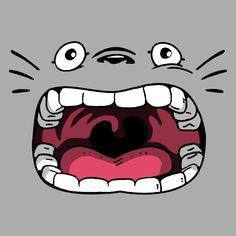 Forest Spirit Face Shirt My Neighbor Totoro, Hayao Miyazaki, Cartoon Art, Aesthetic Wallpapers, Graphic Illustration, Chihuahua, Anime Art, The Incredibles, Geek