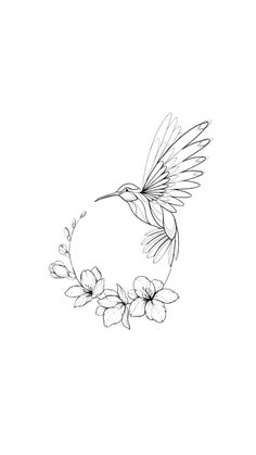 Hummingbird circular design – # tattoo … - Top Of The World Pencil Art Drawings, Bird Drawings, Art Drawings Sketches, Tattoo Drawings, Cute Tattoos, Body Art Tattoos, Small Tattoos, Fox Tattoos, Deer Tattoo