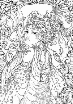 Blank Coloring Pages Sheets For Grown Ups Tips Books Colouring Colorful Drawings Line Art Paper
