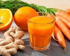 Jus de carotte orange et gingembre : http://www.cuisineaz.com/recettes/jus-de-carotte-orange-et-gingembre-66895.aspx