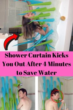 Shower Curtain Kicks You Out After 4 Minutes to Save Water Cute Relationship Goals, Cute Relationships, Burgundy Nail Polish, Black Nails With Glitter, Weird Stories, Save Water, Tight Leggings, Funny Fails, Pet Birds