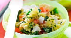 Salade de pâtes simpleVoir la recette de la Salade de pâtes simple >>