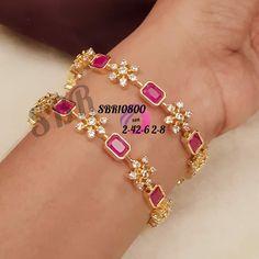 1 Gram Gold Jewellery, Gold Jewelry, Jewelery, Gold Bangles Design, Gold Jewellery Design, Diamond Bangle, Diamond Earrings, Jewelry Sets, Jewelry Accessories