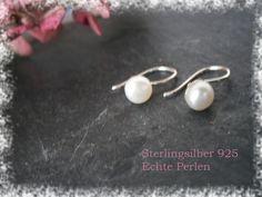 Ohrringe+Silber+925+Zuchtperlen+von+DeineSchmuckFreundin+-+Schmuck+und+Accessoires+auf+DaWanda.com