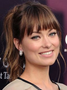 21 Provocative Medium Hairstyles with Bangs Pictures                                                                                                                                                                                 More