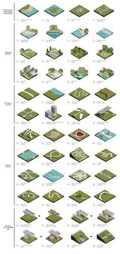 Site Analysis Architecture, Architecture Concept Diagram, Landscape Architecture Drawing, Landscape Model, Architecture Presentation Board, Landscape Concept, Urban Landscape, Landscape Design, Masterplan Architecture