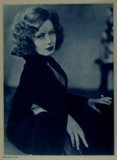 Ruth Harriet Louise. Greta Garbo