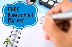 #free #homeschool planner http://savingdollarsandsense.com/free-homeschool-planner/