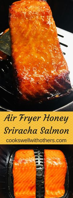 Air Fryer Honig Sriracha Lachs Mahlzeiten The post Air Fryer Honig Sriracha Lachs & Recipe Community Board appeared first on Salmon recipes . Air Fryer Recipes Salmon, Air Fryer Oven Recipes, Air Frier Recipes, Air Fryer Dinner Recipes, Easy Appetizer Recipes, Salmon Recipes, Salmon In Air Fryer, Cooking Tips, Cooking Recipes