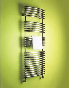 Product image for Bisque Bow Fronted Towel Radiator BFT-120-60