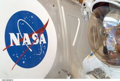 A Different View astronaut Bob Curbeam met the NASA logo up close on his Dec. spacewalk, during which he performed tasks to complete the International Space Station. Additional Science, Nasa New Horizons, Math Stem, Nasa Photos, Nasa Missions, Castle In The Sky, Thematic Units, Andromeda Galaxy, Space Station